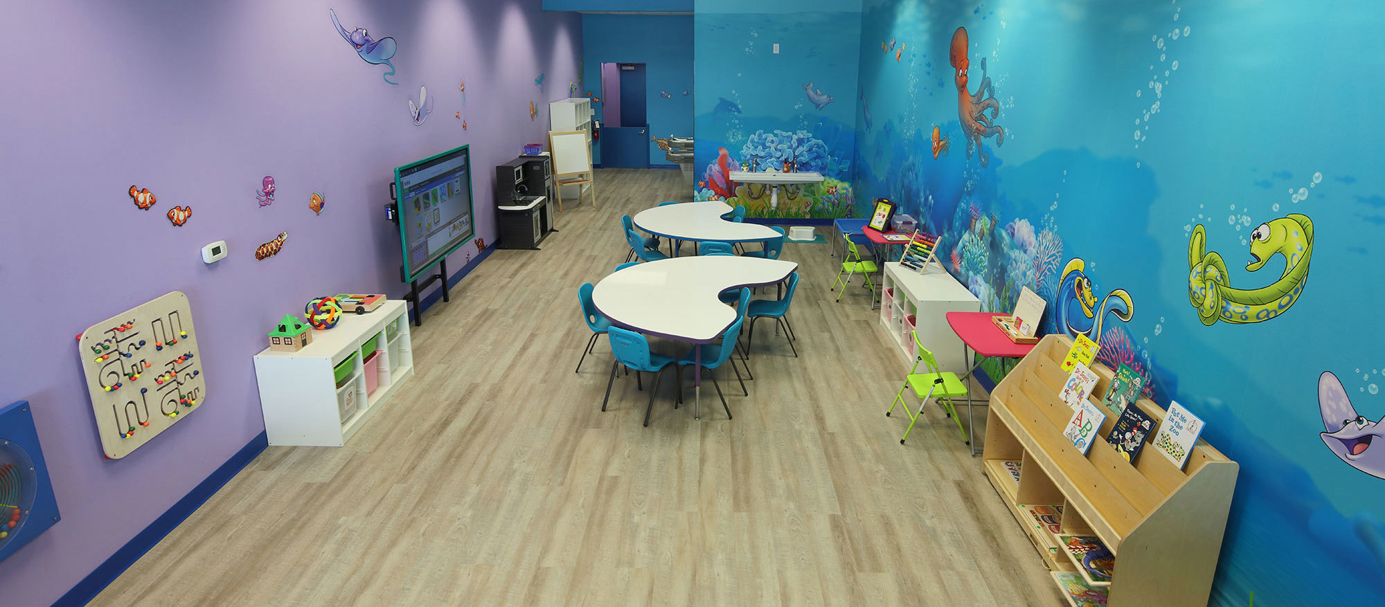 Undersea Themed Environment at Ashley's Playhouse