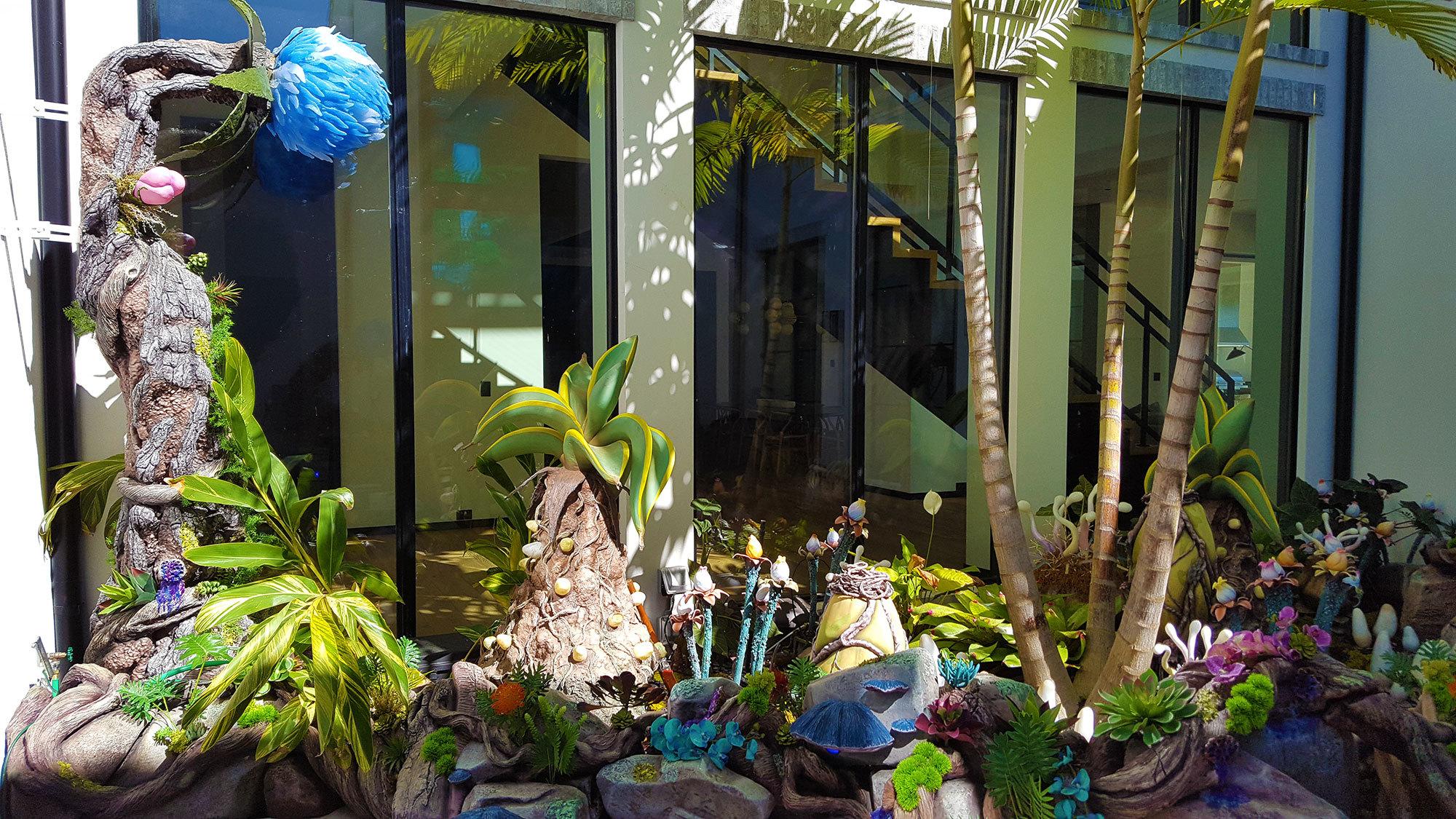 Fantasy Garden in Florida Residential Home