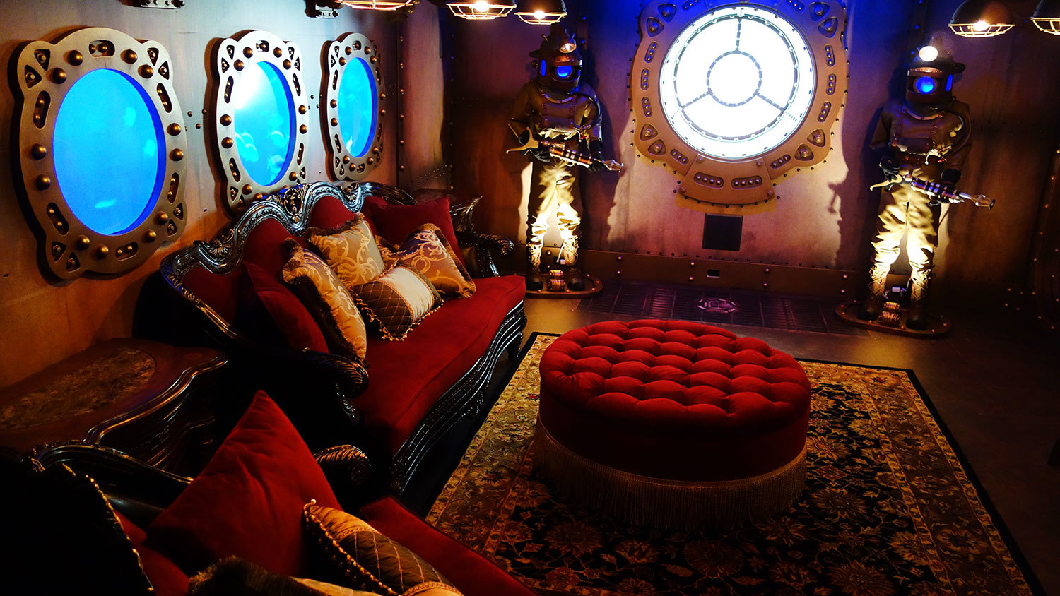 20,000 Leagues Under the Sea Themed Nautical Home Theater