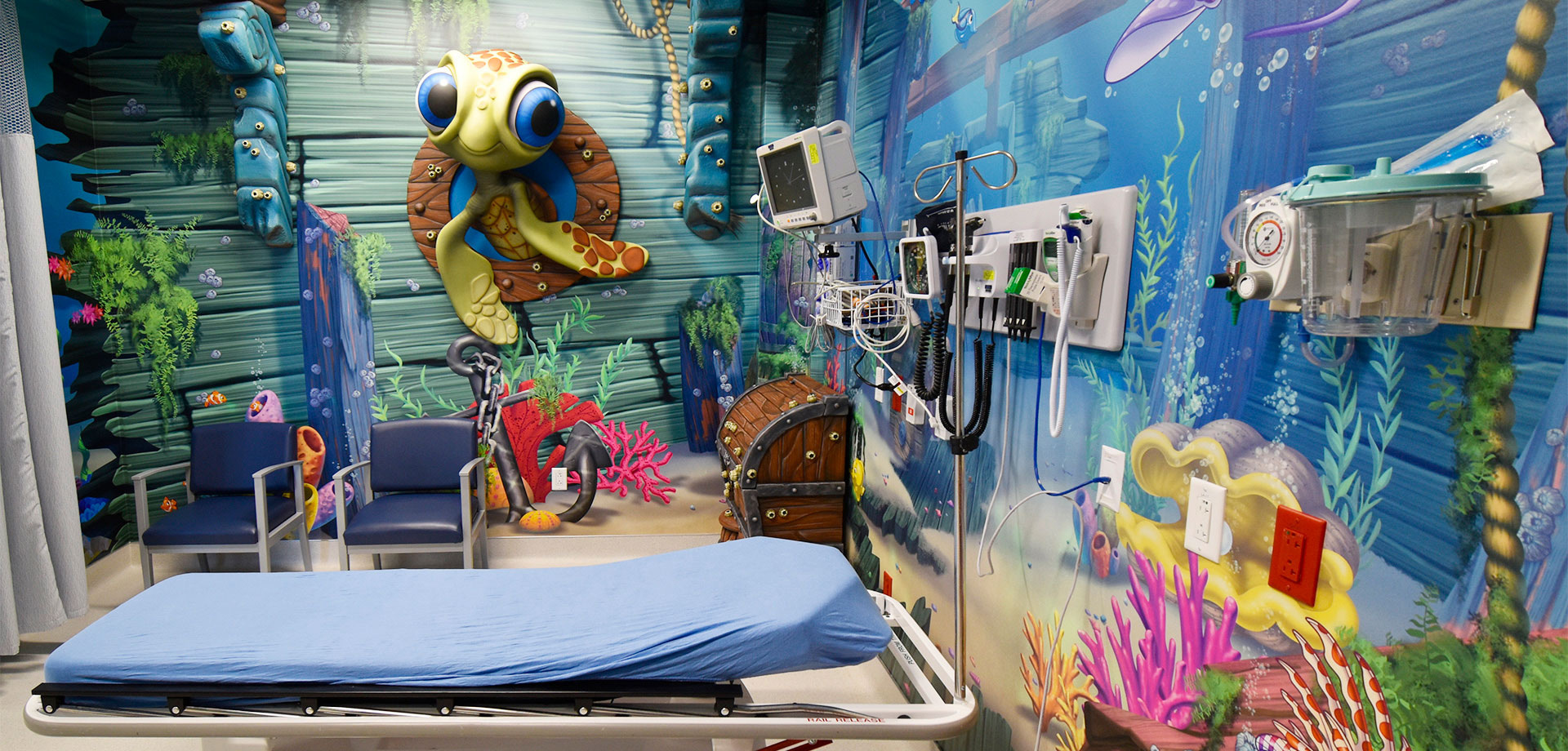 Undersea Themed Space at America's ER