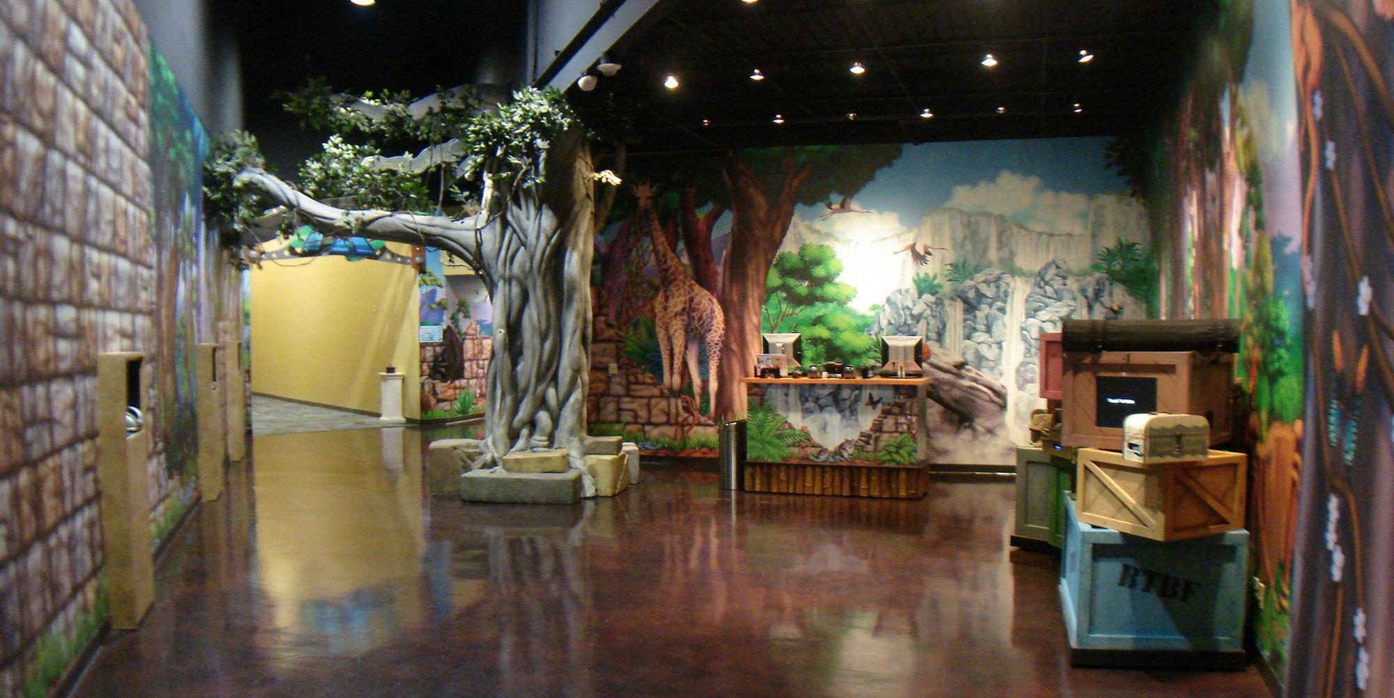Jungle Themed Environment at Bent Tree Bible Fellowship