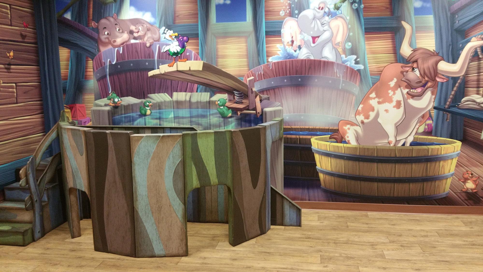 Biblical Noah's Ark Themed Environment at Faith Family Church SD