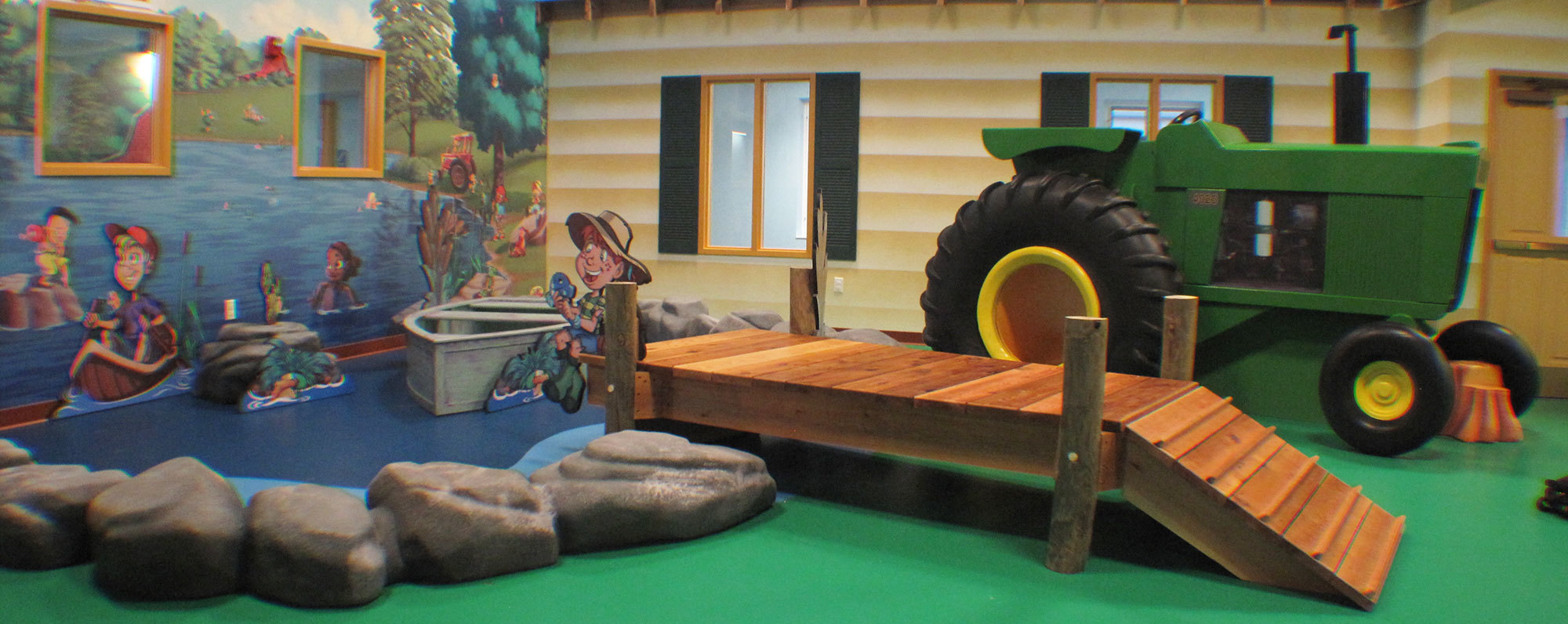 Farm Themed Environment at Hardin Baptist Church