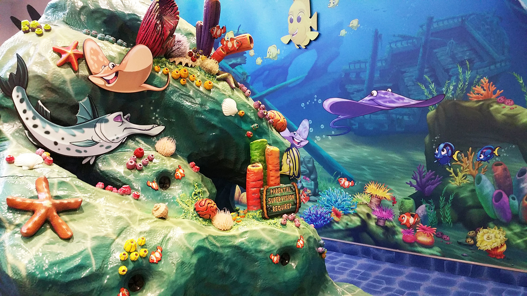 Undersea and Jungle Themed Play Area for Sertoma Butterfly House & Marine Cove