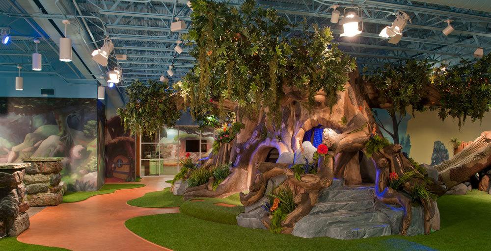 Fantasy Forest & Hobbitville Themed Space at Stonebridge Church
