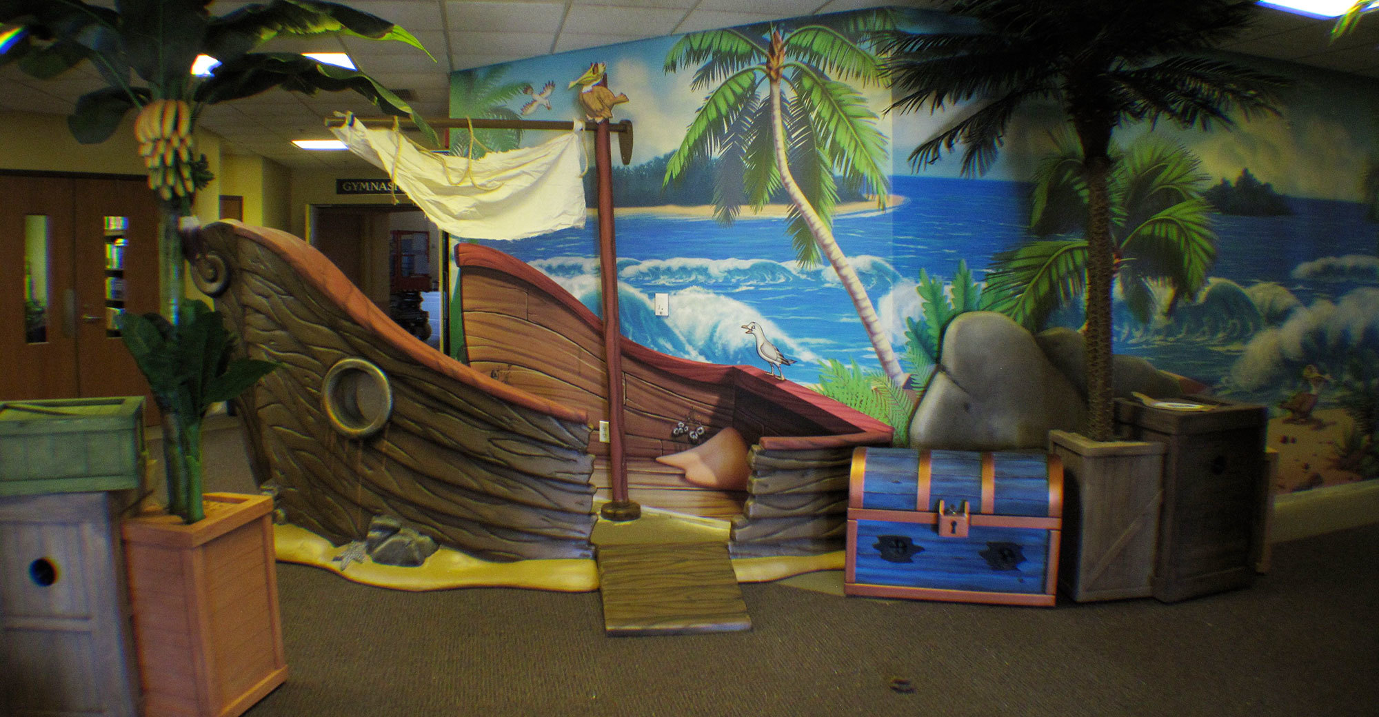 Jungle Themed Area at FUMC Springfield